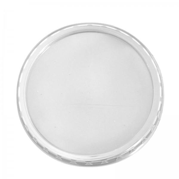 Transparente Deckel für Feinkostbecher