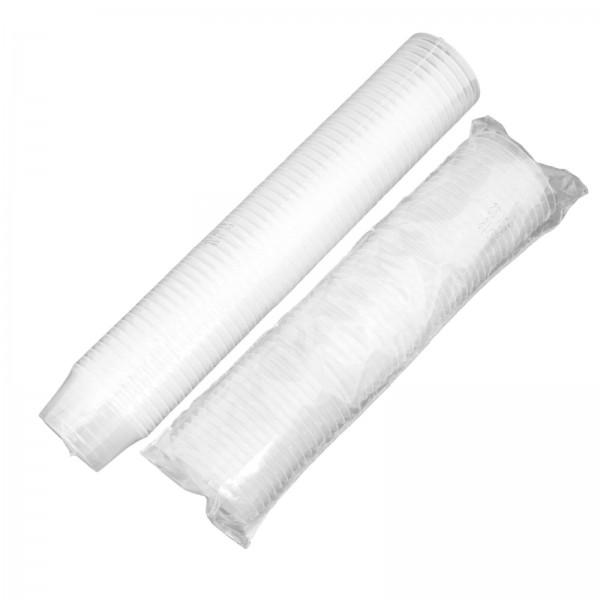 Kleiner transparenter Feinkostbecher 30 ml (mit Deckel transp.)