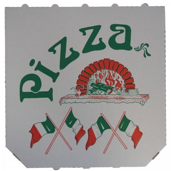 Weißer Pizzakarton Modell (Treviso)