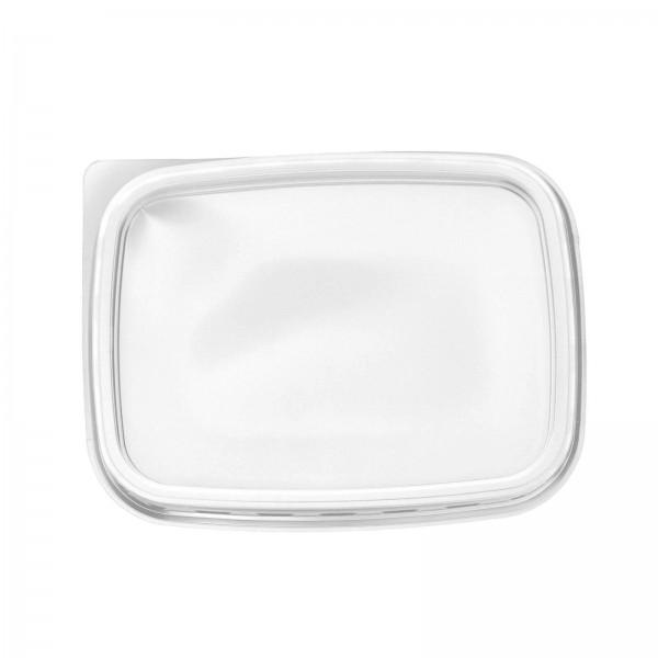 Transparenter Deckel für Feinkostbecher 108 x 82 mm (PP)