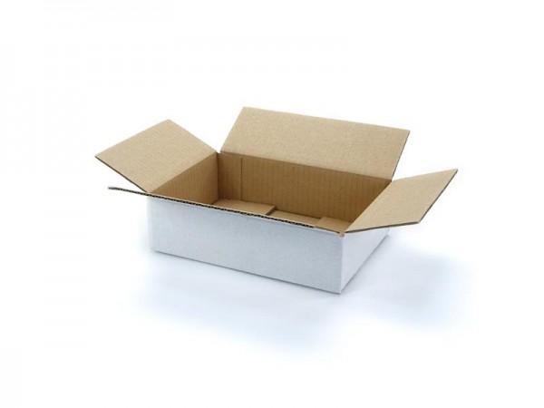 215 x 150 x 55 mm 1-welliger Karton, weiß