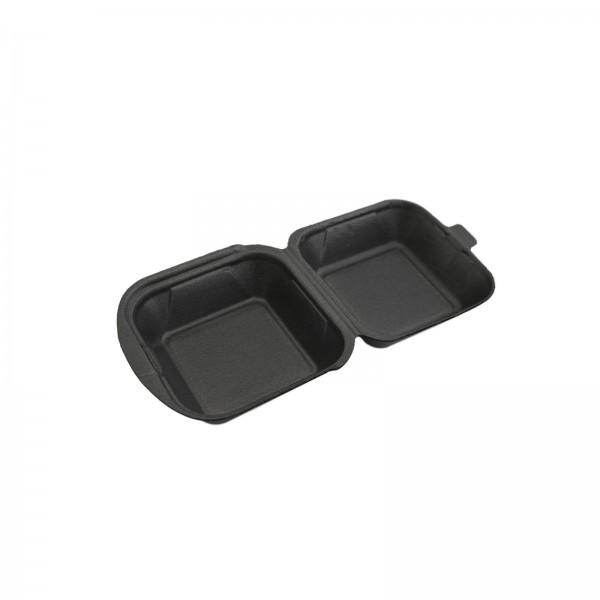 Thermo-Klappbox Hamburger Box EPS Styropor anthrazit