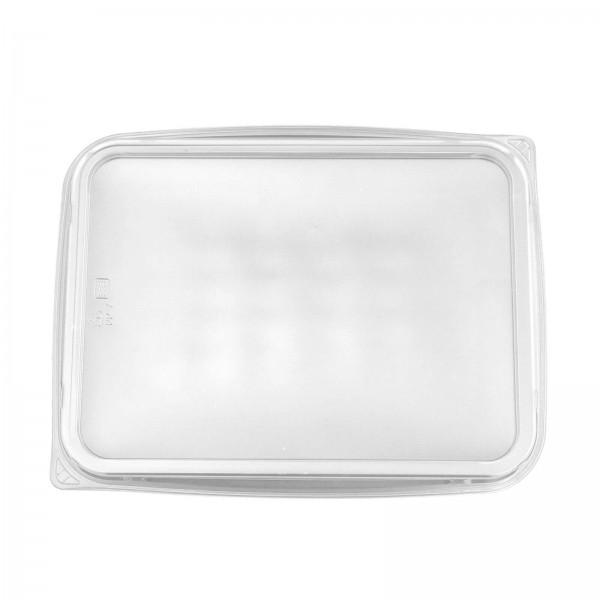 Transparenter Deckel für Feinkostbecher PP 180 x 133 mm