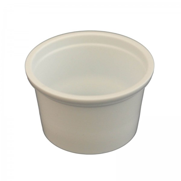 Kleiner weißer Feinkostbecher 30 ml