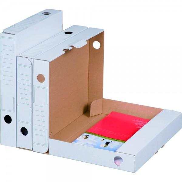 """weiße Archiv-Ablagebox """"Bianco"""""""