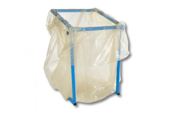 Seitenfaltensack Styroporentsorgungssack Müllsack 900 + 600 x 1800 x 0,060 mm