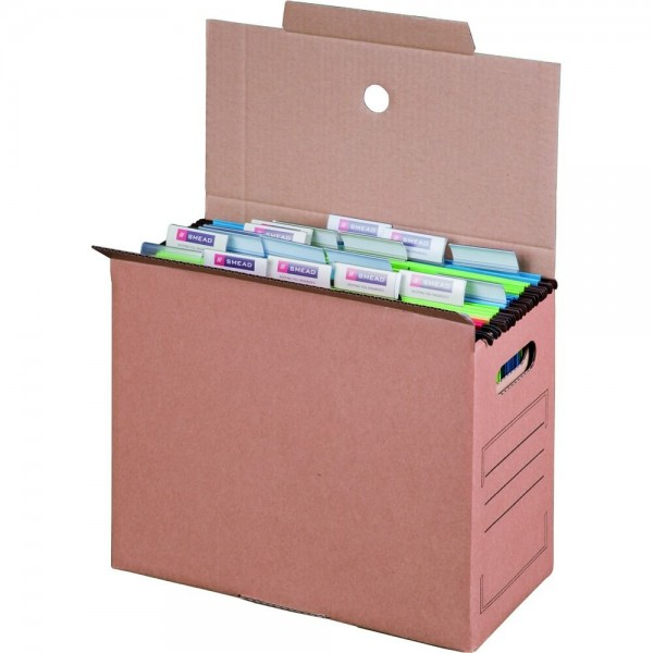 Archiv-Transportbox für Hängemappen