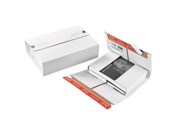 305 x 230 x 0 - 92 mm A4 Versandverpackung weiß