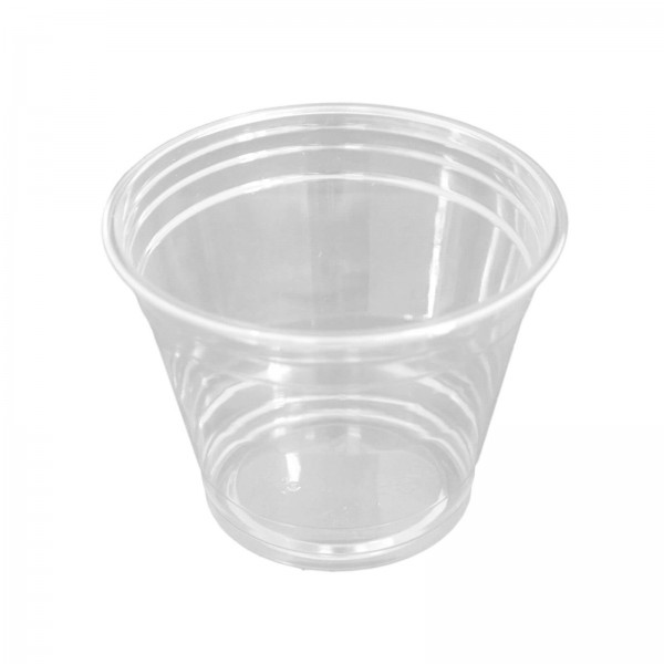 transparenter Trinkbecher PET Smoothie Clear Cups