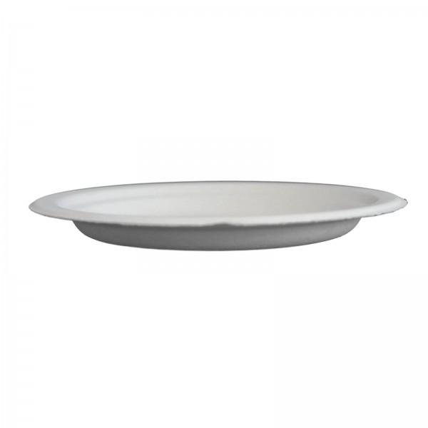 Weißer Chinet Teller ohne Decor Ø 17cm