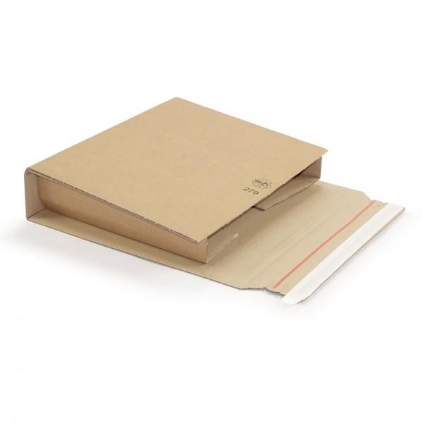 320 x 290 x 35 - 80 mm braune Ordner-Verpackung A4