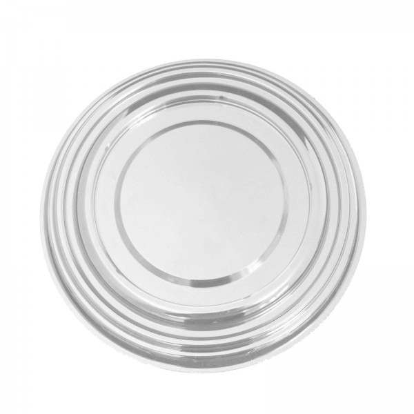 Transparenter flacher Salatschalendeckel für (Papp Salatschale To Go)