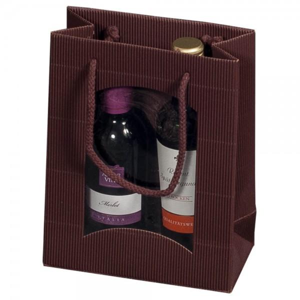 Geschenktragetasche mit Sichtfenster