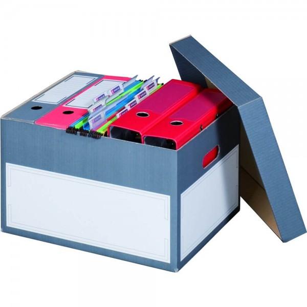 Color Archiv-Box für Hängemappen, anthrazit