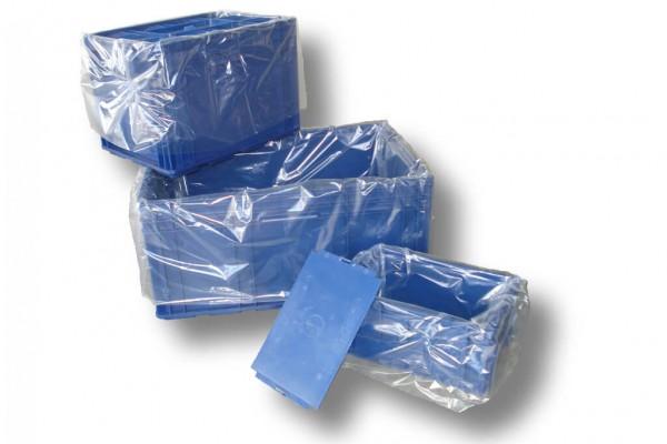 Seitenfaltensäcke für KLT 615 + 415 x 760 x 0,034 mm