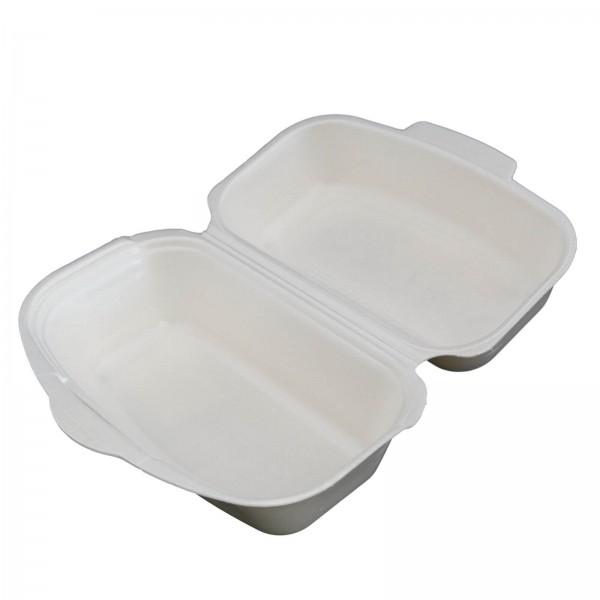 Thermo-Klappbox Nudelbox EPS Styropor cream, 220 x 145 x 95 mm