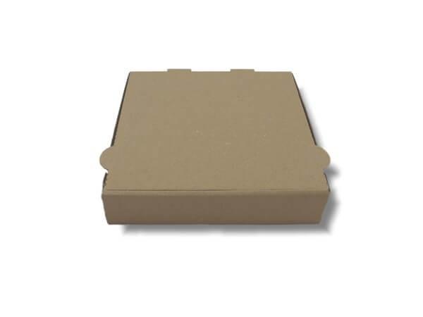 Brauner Pizzakarton