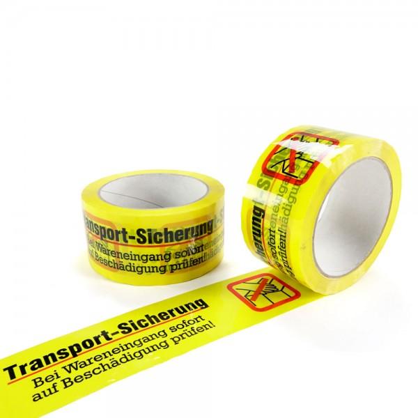 """PP- Klebeband gelb """"Transport-Sicherung"""""""