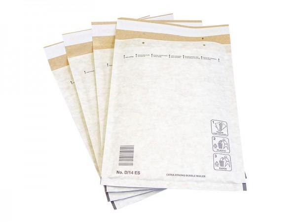 weiße Luftpolster-Versandtaschen (extra stark)