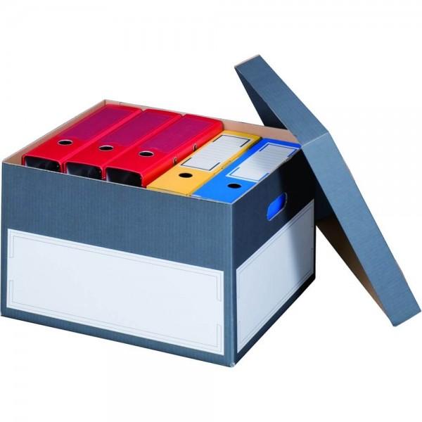 Color Archiv-Box Ordner, anthrazit