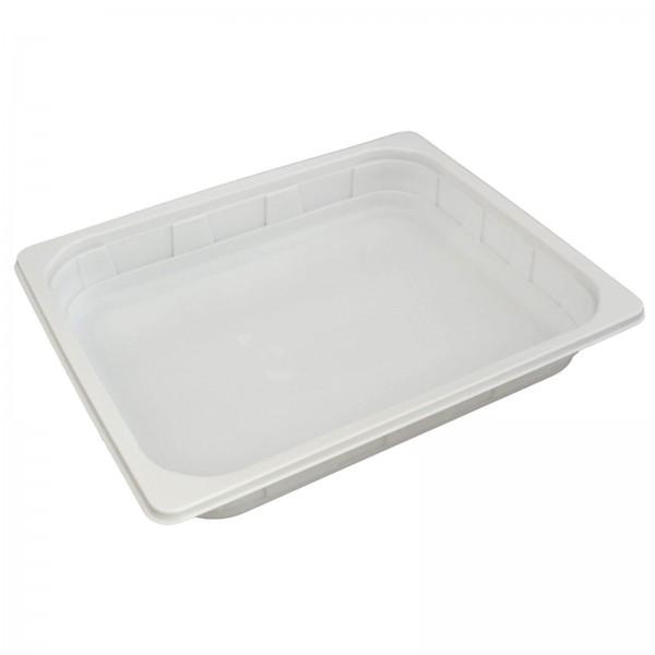 Siegelschale PP 1/2 Gastronorm weiß