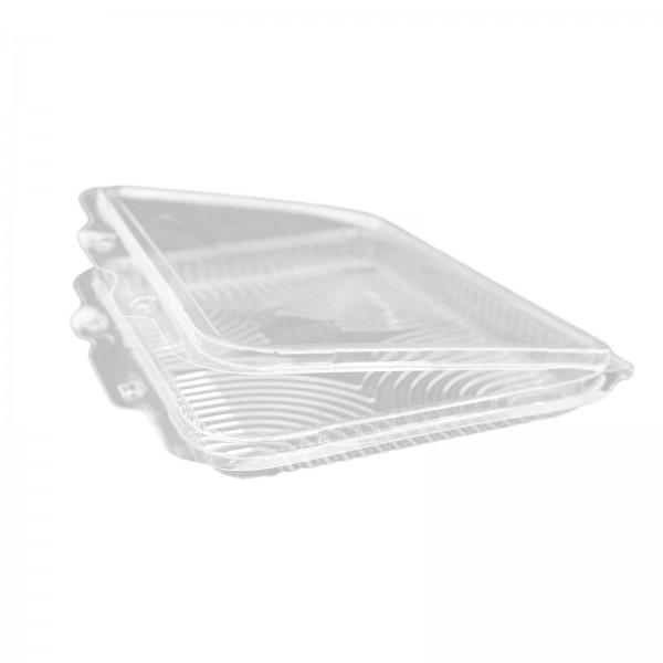 Transparente Salatschale (Haushaltsklappbox) OPS 200 x 145 x 20 mm