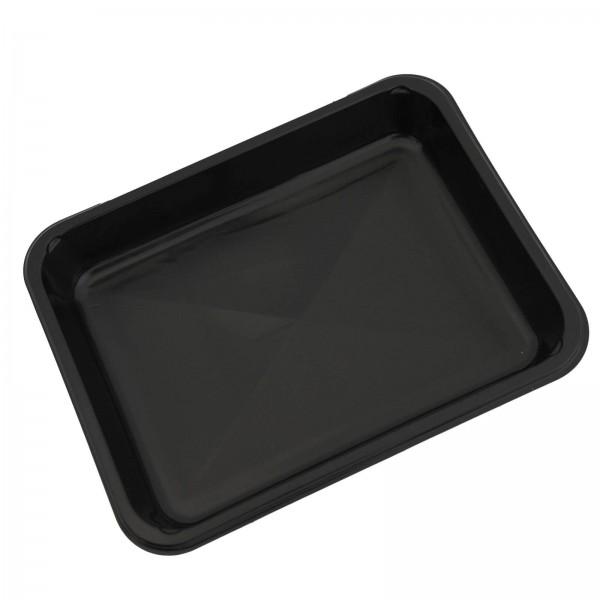 Siegelschale PP Tray schwarz, ungeteilt