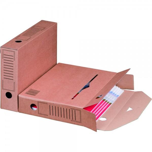 Archiv-Ablagebox mit Automatikboden