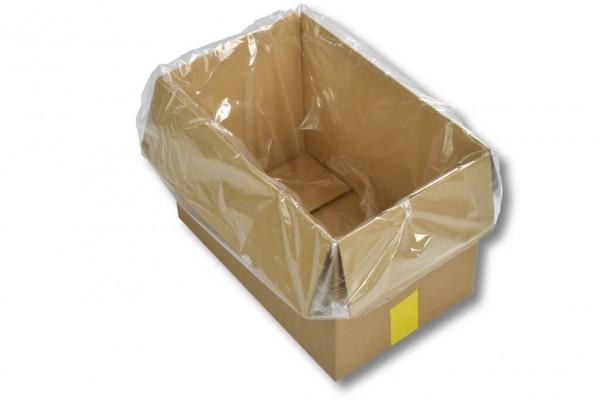 Seitenfaltensack 550 + 500 x 1300 x 0,07 mm