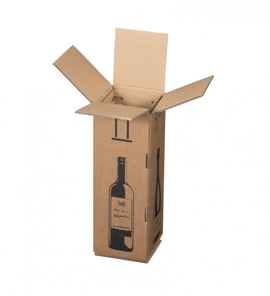 Magnumflaschen Versandkarton Smartboxpro