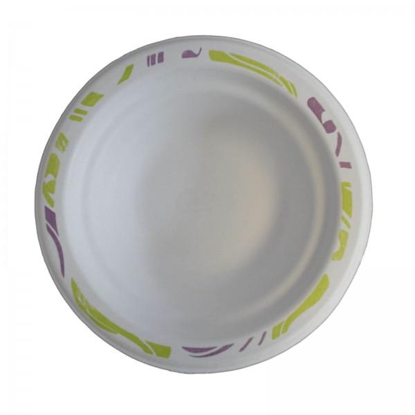 Weiße Chinet Schale mit Decor (Flavour)