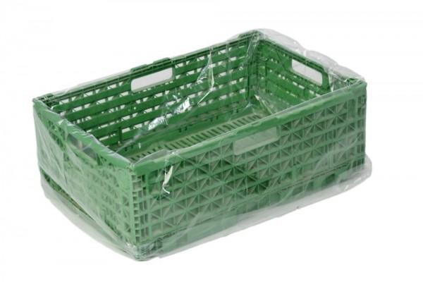 Seitenfaltensäcke für E2 Kisten 650 + 450 x 650 x 0,010 mm