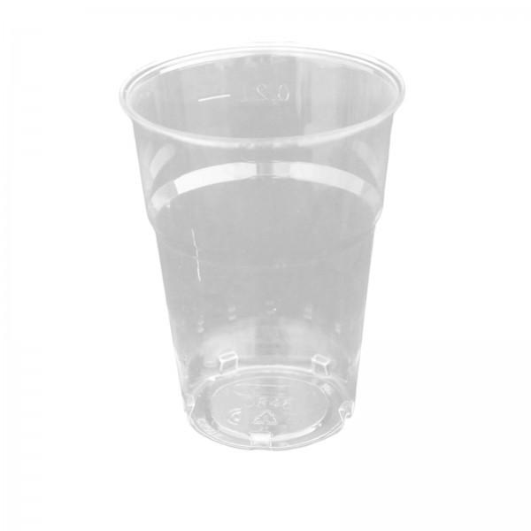 Einwegbecher Zahnputzbecher 200 ml PS (folienverpackt)