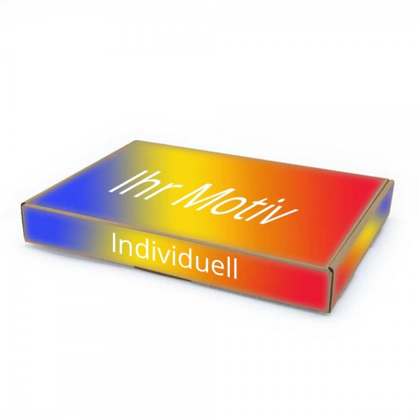 350 x 250 x 50 mm Maxibrief Karton, (Außenmaß) mit Digitaldruck