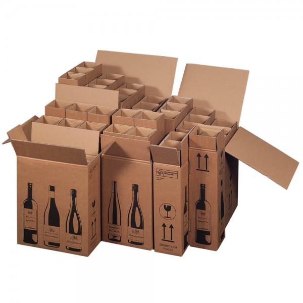 Flaschenkarton mit DHL-Zertifikat (PTZ)