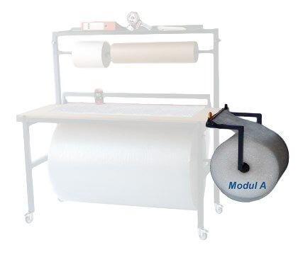 Anbaumodul Schneidvorrichtung für Mehrzweckschneidständer, 500 mm breit