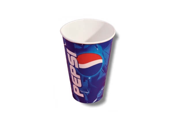 Pepsi Papp Trinkbecher