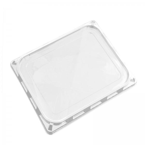 Siegelschale, Deckel APET transparent 325 x 265 mm (für 1/2 GN PP-Schalen)