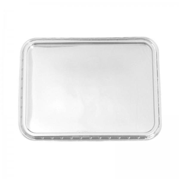 Transparenter Deckel für Feinkostbecher PS 180 x 135 mm